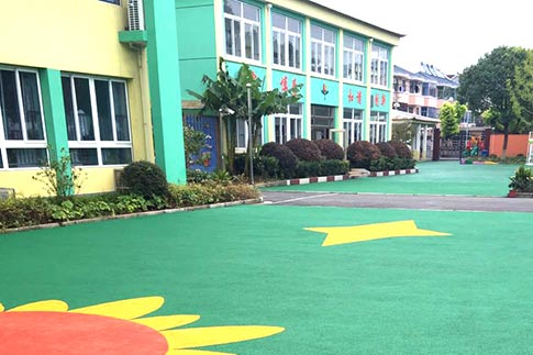 幼儿园EPDM橡胶颗粒